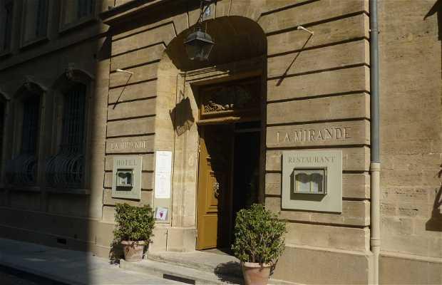 La Mirande restaurant
