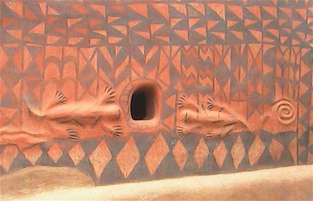 Tiebele - Pinturas del país Kassena