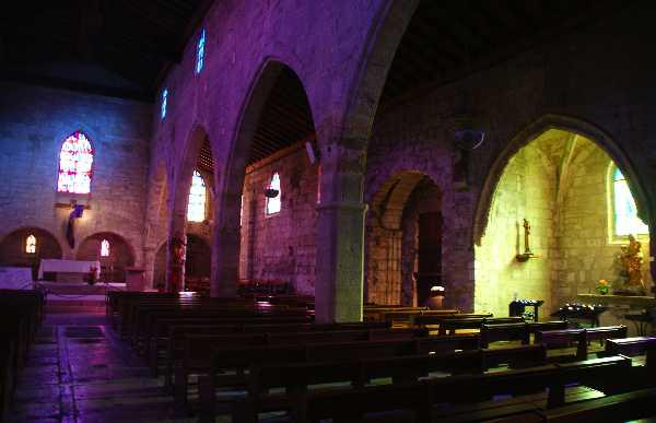 Aigues Mortes church