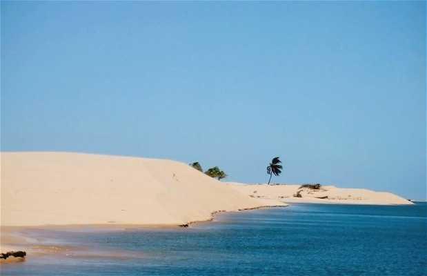 Playa del Pontal do Peba