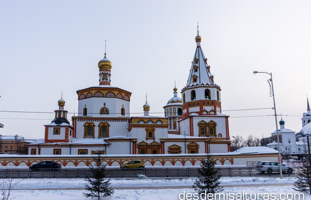 Catedral ortodoxa de la epifanía, irkutsk