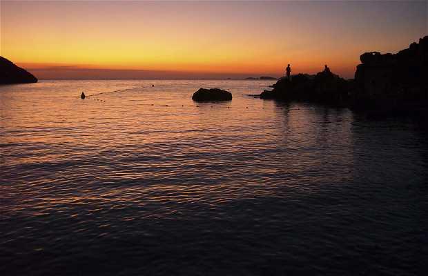 Cala Molí a Ibiza