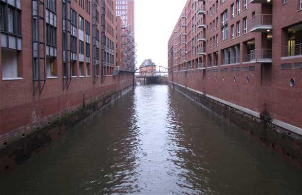 Les vieux docks d'Hambourg
