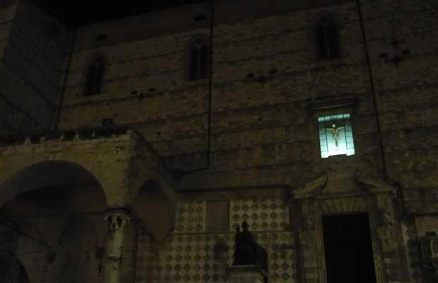 Piazza 4 novembre di Perugia