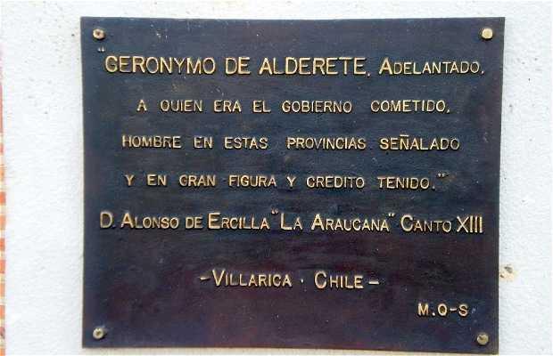 Monument de Geronimo de Alderete