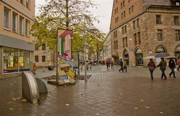 Fragmento do Muro de Berlin