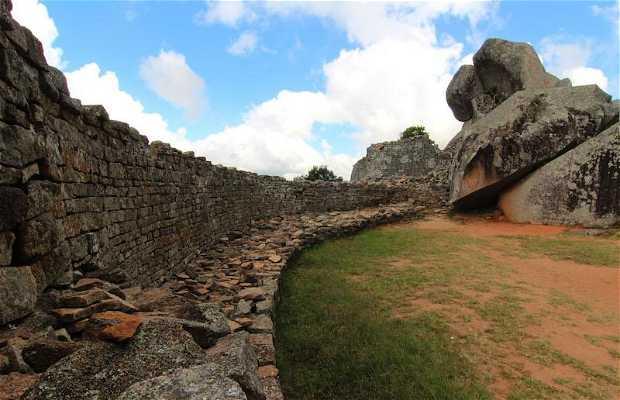 Las Ruinas de Great Zimbabwe
