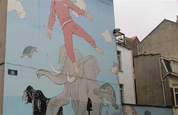 Murales Les rêves de Nick - Hermann