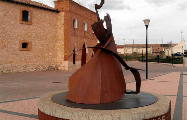 Estatua del centenario de la plaza de toros