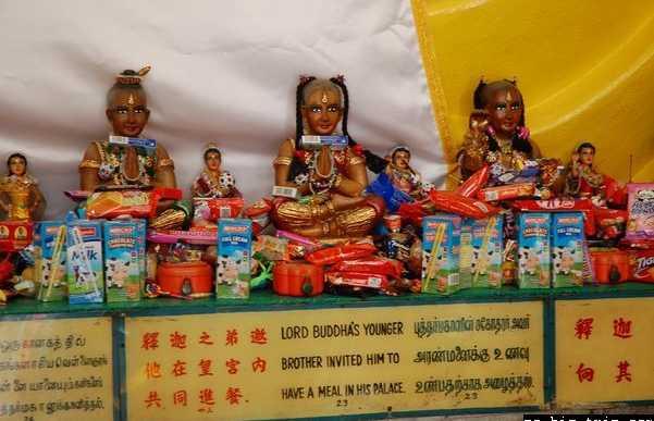 Templo Sakya Muni Buddha Gaya