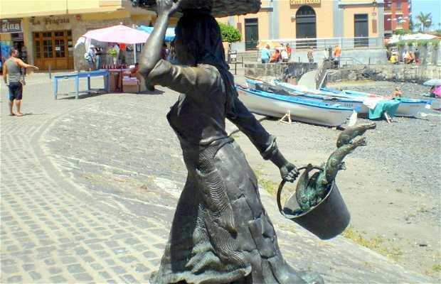 Monumento alla Pescatrice a Tenerife