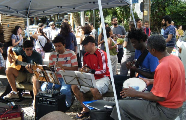 Feria de la Calle General Glicério