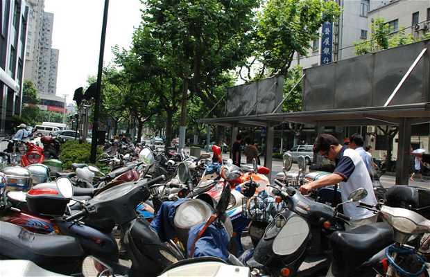 Motos en Shanghai