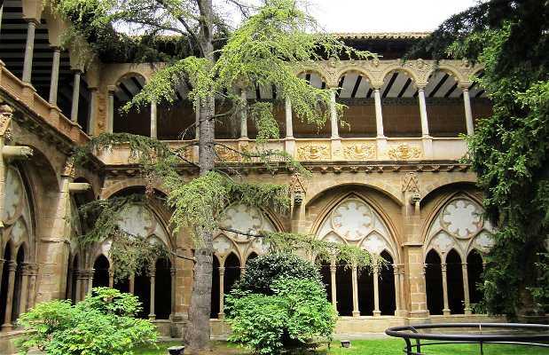 Claustro del Monasterio de Santa María de Veruela