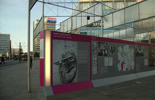 Exposición de los 20 años de la caida del muro de Berlin