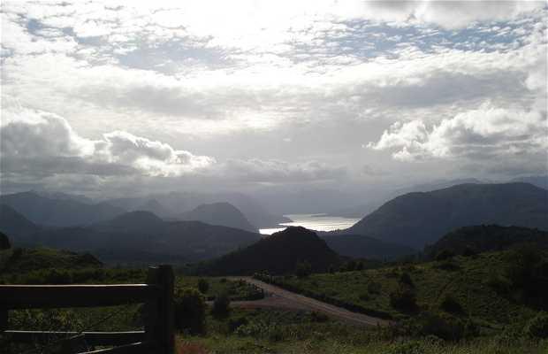 Lacar Lake