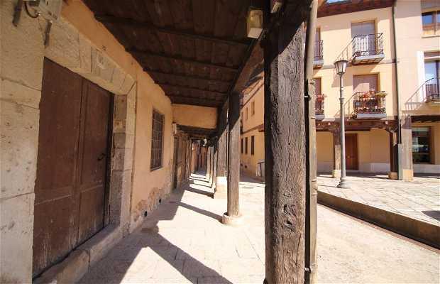 Plaza mayor de Berlanga del Duero