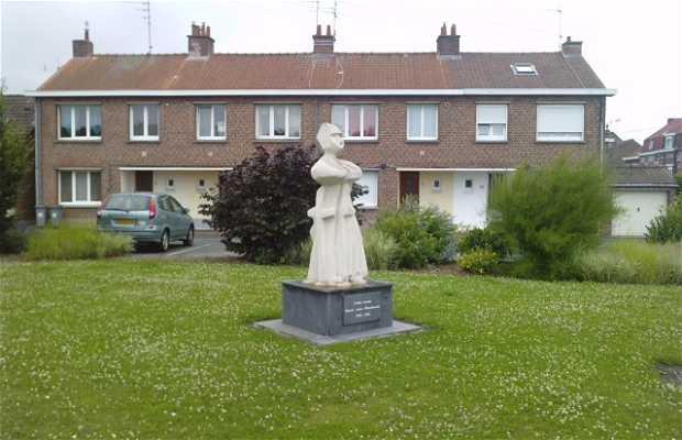Statue de l'abbé Lemire