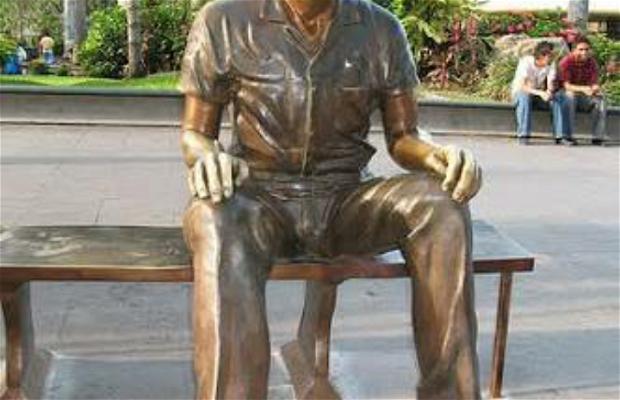 Estatua de Pepito El Terrestre en Tampico