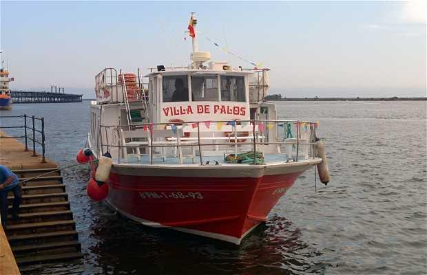 Paseo en barco por Marismas del Odiel