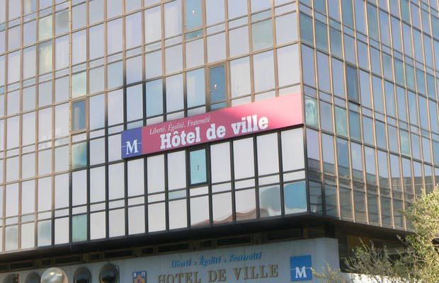 Hôtel de ville de Montpellier