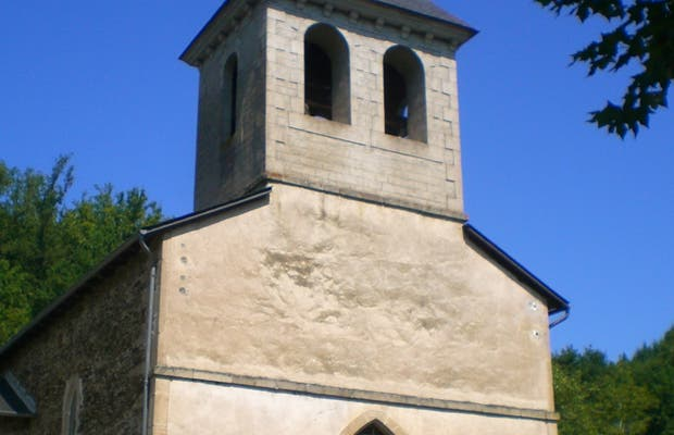 Iglesia Nuestra Señora de Latouille-Lantignac, Latouille Lentillac, Francia
