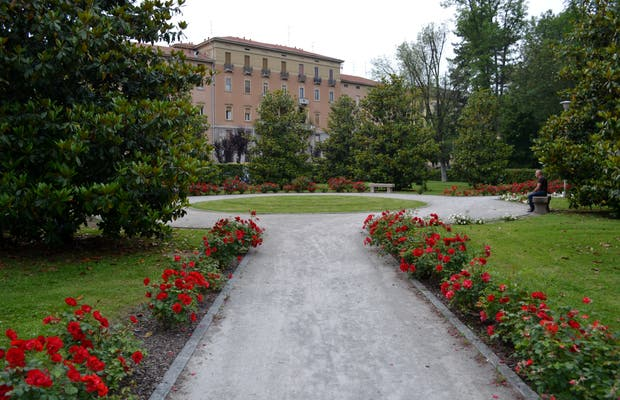 Gardens of the Castello Visconteo