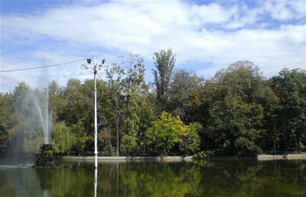 Parco Cismigiu a Bucarest