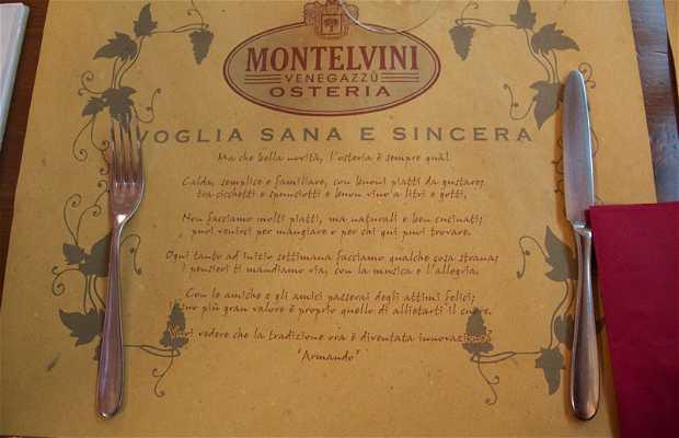 Osteria Montelvini Cantina di Perbacco