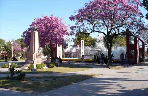 Piazza Belgrano a Santiago del Estero