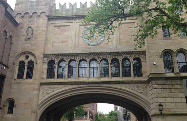 Sala Skull and Bones da Universidade de Yale