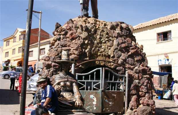 Statue de mineur