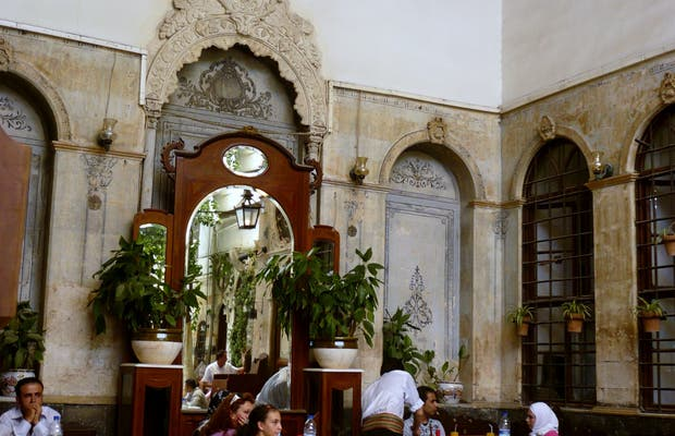 Le restaurant Beit Jabri