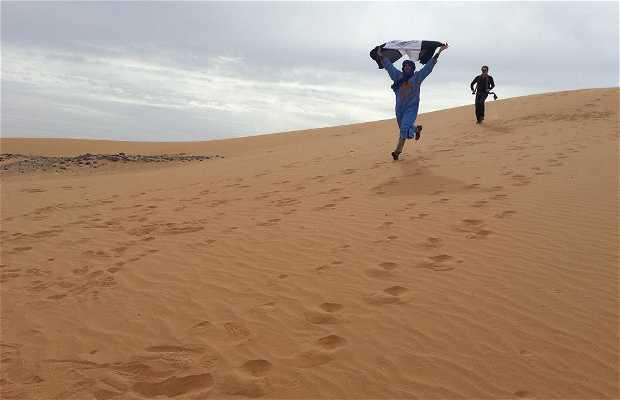 Dunas de Marrocos