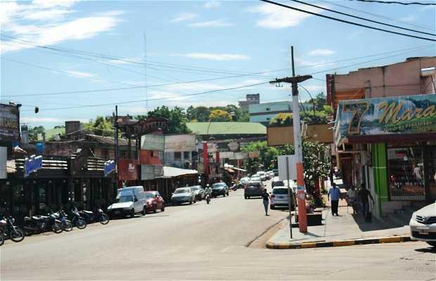 Centro de Puerto Iguazu