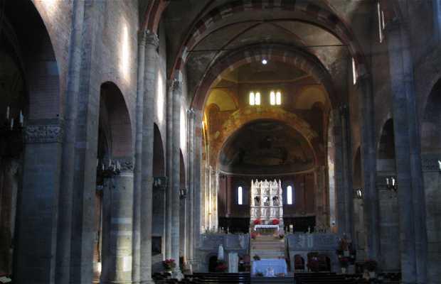 Church of San Pietro in Golden Sky