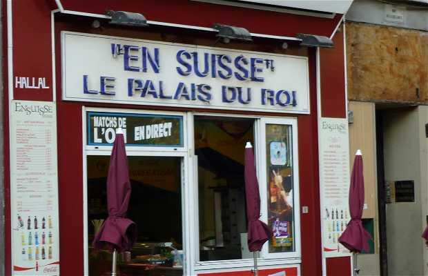 Restaurante En Suisse, le palais du Roi