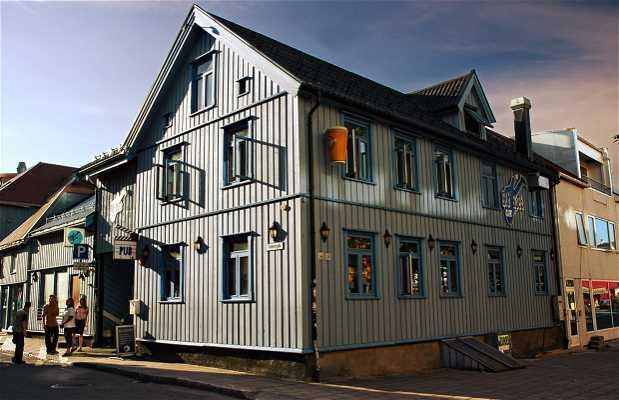 Blå Rock café