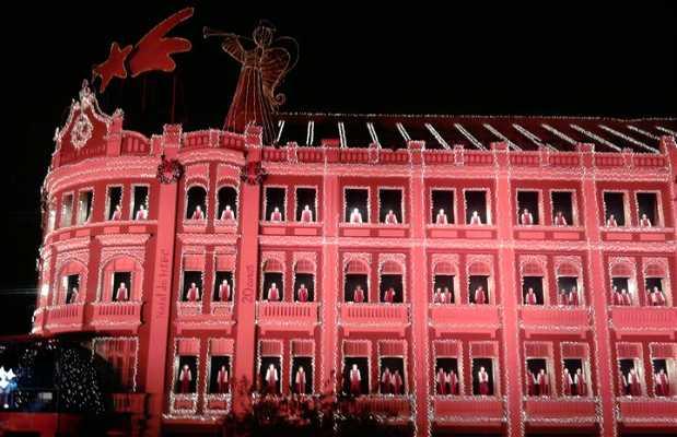 Navidad en el Palácio Avenida