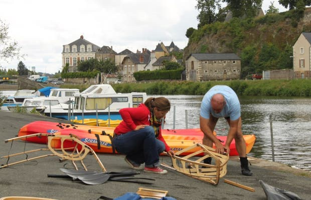 Le club de canoë kayak Canotika