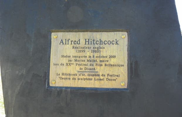 Estatua de Hitchcock