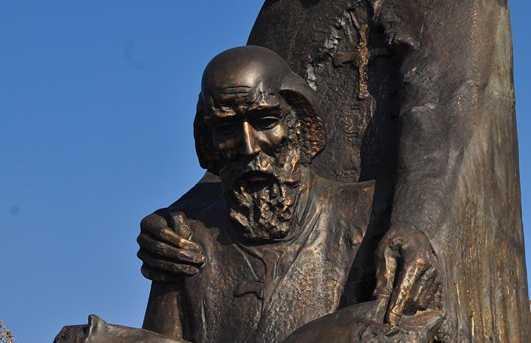 Estatue de Cyrille y Methode