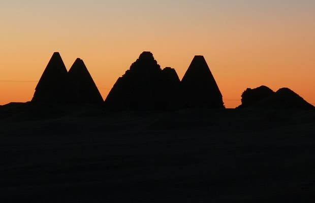 The Pyramids of Karima