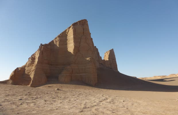 Los Kaluts del desierto Dasht-e-Lut
