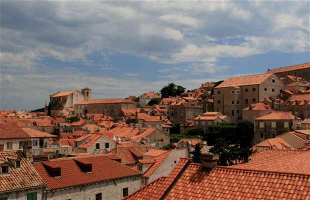 Toits de Dubrovnik