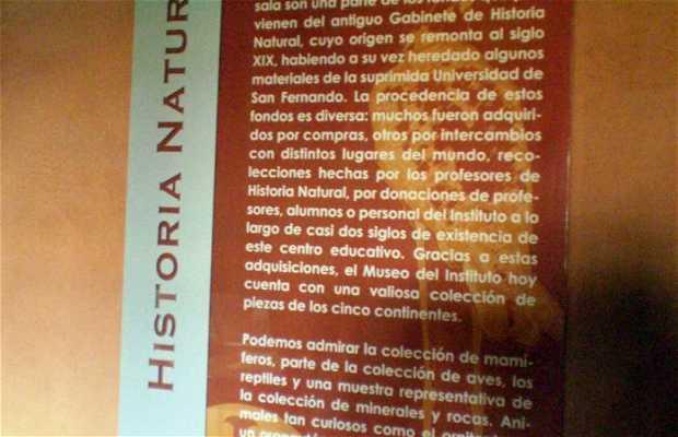 Il museo di Storia Naturale Cabrero Pinto de La Laguna