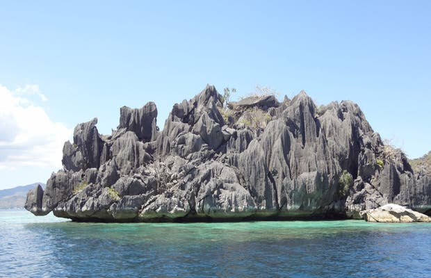 Isola Malcapuya nelle Filippine