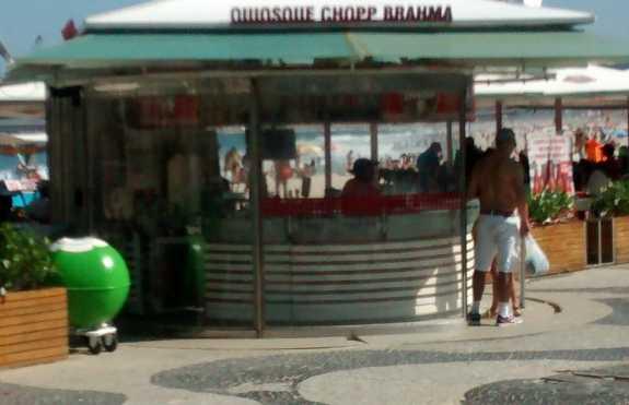 Quiosque Chopp Brahma - Avenida Atlântica