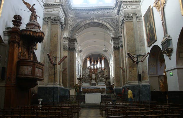 Iglesia San pedro Chartreux