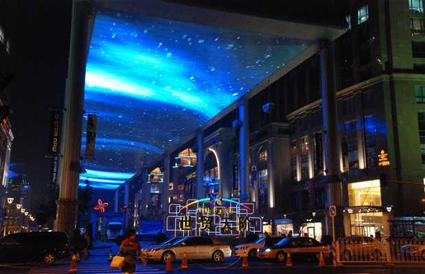 La pantalla más grande de China